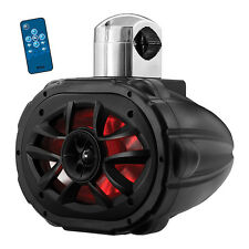 "Boss Audio MRWT69RGB 6X9"" 2-Way Marine Wake Tower Speaker With RGB Lights"