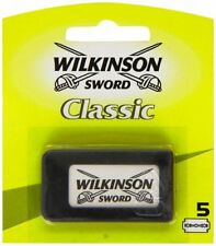 Wilkinson Classic Sword Double Edge Razor Blades  Pack of 5