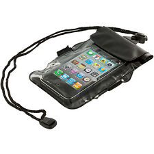 Black Waterproof Pouch Dry Bag Holder Case Cover For iPod Touch 4th Gen 4G