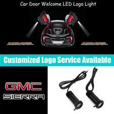 2x GMC SIERRA Logo Car Door LED Projector Light for GMC Sierra 1500 2500 3500 HD