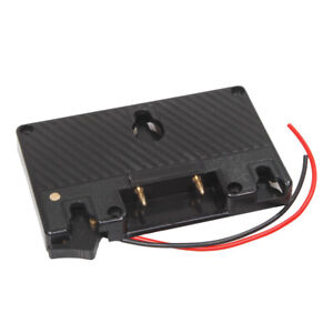 Gold Mount Battery Camera Adapter Plate for Power B-Tap Anton SW J8D9
