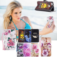 Wallet Flip Leather Phone Stand Case Cover for Samsung Galaxy A3 A5 A7 A8 S8 S9