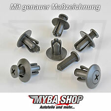 10x Befestigungs Clips Schraube KIA Hyundai Honda Fiat Mazda Grau | 8659028000