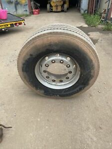 Super Single 385 65 22.5 Front Steer On Wheel