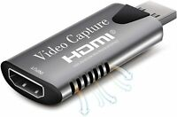 HDMI Video Capture Card USB 3.0 /1080p Recorder Phone Game Video Live Streaming