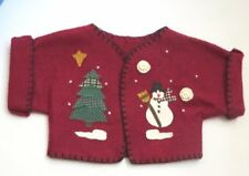 "Tender Heart Treasures Christmas Holiday Jacket for 12"" Bear or Doll"