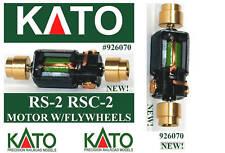 KATO 926070 RS-2 RSC-2 MOTORE UNIVERSALE NUOVO BRAND-NEW a 2 VOLANI  SCALA-N