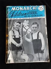 MONARCH CHILDRENS BOOK KNITTING CROCHET PATTERN CRAFT PATTERN INSTRUCTION