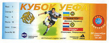 Original ticket uefa Cup 99/00 schachtor Donezk-roda JC Kerkrade!!!