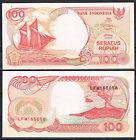 INDONESIA - BILLETE 100 RUPIAS 1992 (1995) Pick 127d SC UNC