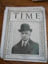 Time Magazine February 11, 1924 John Hessin Clarke