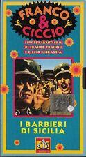 FRANCO E CICCIO - I BARBIERI DI SICILIA (1967) VHS