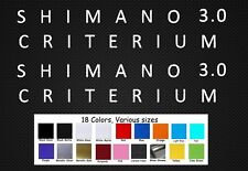 Cannondale Criterium 3.0 Bike Frame Decals Sticker Set MTB DH Freeride Cycling
