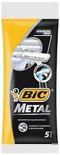 Bic Razor Blades Disposable Metal Classic Shaver Hair Removal 5 Pieces