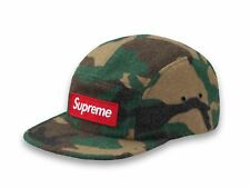 2017 F/W Supreme Camo Wool Camp Cap