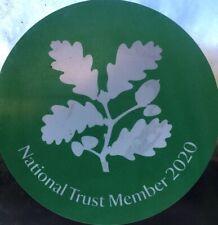 ORIGINAL National Trust Member 2020 Stickers