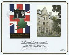 St NEVIS 30 DECEMBER 2010 ROYAL ENGAGEMENT M/SHEET O/S VLE FIRST DAY COVER