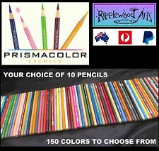 Prismacolor Premier Colored Pencils - Your Choice of  10 pencils