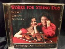 Works For String Duo - Hagit Halaf & Christoph Emmanuel Langheim