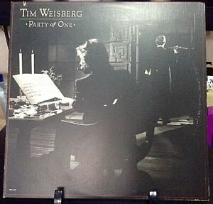 TIM WEISBERG Party Of One Album Released 1980 Vinyl/Record  Collection US press