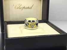 CHOPARD AMORE HEARTS WHITE GOLD RING 82/7219-1105 BRAND NEW $5,120 RETAIL!!!