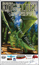 Disc Golf Art - Limited Edition Signed & Numbered Lithograph- Dragon Sierra Coll