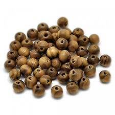 1000pcs 8mm WOODEN Round Spacer Beads A12 WHITE A GRADE