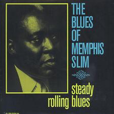 Memphis Slim - Steady Rolling Blues (Vinyl LP - 1961 - EU - Reissue)