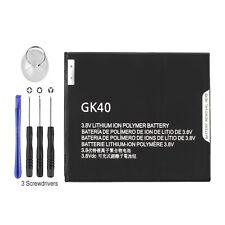 New Gk40 Battery for Motorola Moto G5 Xt1670 Xt1671 Xt1675 Xt1676 Xt1677 +Tools