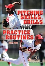 Pitching Skills, Drills and Practice Routines - Baseball Instructional DVD