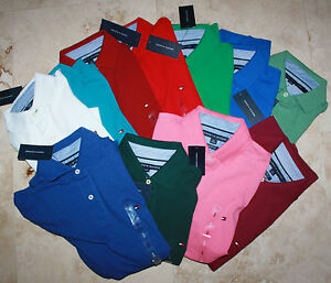 Tommy Hilfiger POLO SHIRT new with tag MEN classic / custom / performance / slim