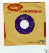 45 RPM SP DON ROBERTSON HAPPY WHISTLER (CAPITOL)