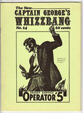 Captain Georges's Whizzbang #14, ROY ROGERS, OPERATOR 5, 1972 Fanzine, FINE