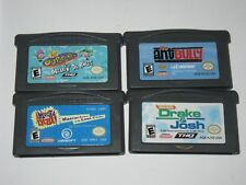 Nintendo Game Boy Advance GBA Lot of 4 Games -----