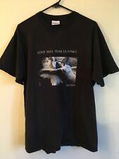 Vtg 90s JOY DIVISION 1993 Love Will Tear Us Apart Tour Shirt Punk New Order XL