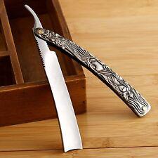 Straight Edge Steel Shaper Folding Shaving Knife Razor Cut Throat Barber Shaver