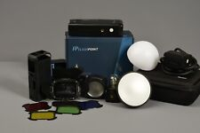 Flashpoint eVOLV 200 TTL Modular Strobe Kit. Comes With Accessories