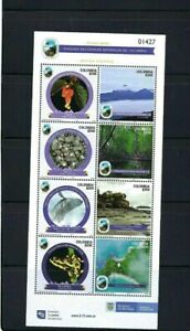 PARK NATURAL  PACIFICO>> ISSUE 8    OF COLOMBIA.-  S/SHEET  2021