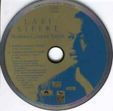 Labi Siffre: Nothin's Gonna Change PROMO MUSIC AUDIO CD LP Extended Remix 1989