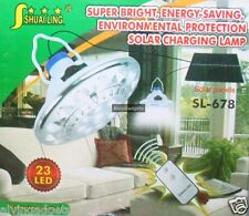 Solar Powered Energy Super Bright SMD 23 LED Light Lamp With Remote Control