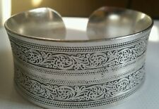 Beautiful!Tibetan Tibet Silver Totem Bangle Cuff Bracelet