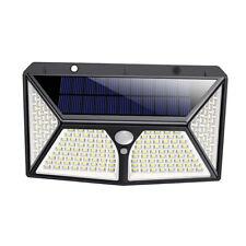 180-LED-Solar Wandlampe mit Bewegungsmelder 2000lm IP65
