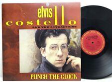 Elvis Costello and the Attractions Punch The Clock Original Vinyl Record Album