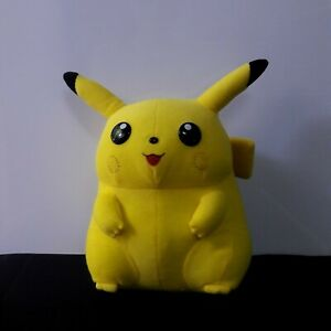 Vintage 1999 Pokemon Pikachu Stuffed Plush Doll BANPRESTO Old Toy Collectible 9""