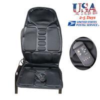 Back Massage Chair Heat Seat Cushion Neck Pain Lumbar Support Pads Car 8 Kinds