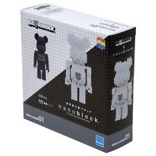 Medicom Be@Rbrick Bearbrick Nanoblock Set B 2 Pack Figures In Hand - Ships Free!
