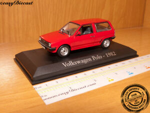 VOLKSWAGEN POLO RED - 1982 1:43