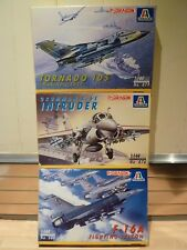 Italeri / Dragon 1/144, F-16A Fighting falcon, Tornado IDS, Grumman Intruder x3