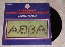 VINILO LP SALUTE TO ABBA  DEL AÑO DE 1981
