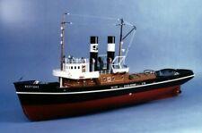 "Saito Steam Tugboat 1/40 ""NEPTUNE"" Hull Kit New F/S from Japan (1000)"